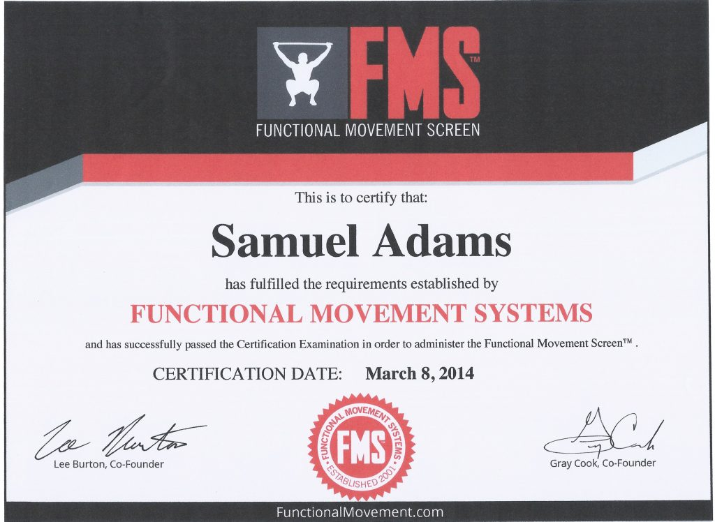 Meet Sam Adams Rolfing Instructor Massage Therapist Fms